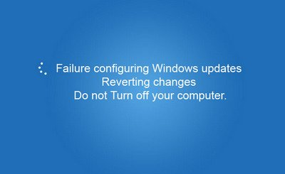 Failure Configuring Windows Update