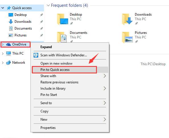 use file explorer in Windows 10