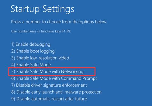 enter-safe-mode-fix-black-screen-windows-10