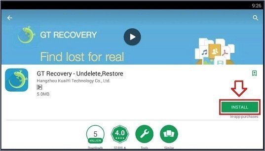 GT RECOVERY FOR PC