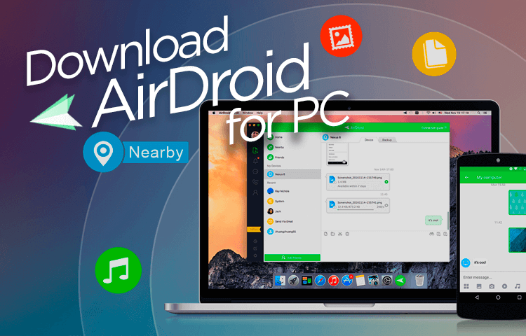 download airdroid for pc