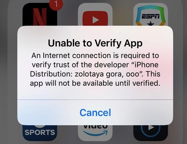 How to Fix Error Unable to Verify GBA4iOS App