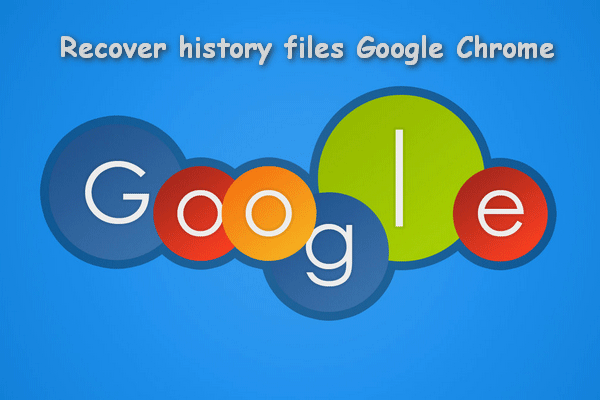 Recover History Files on Google Chrome