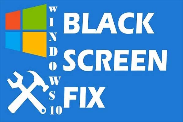 fix black screen of death windows 10