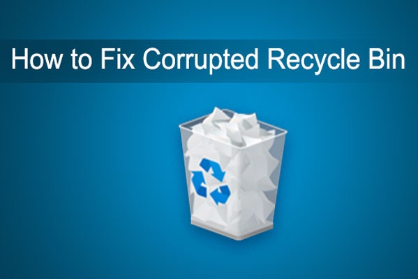 how to fix recycle bin