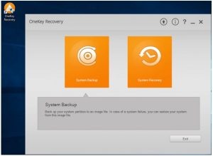 onekey recovery not working