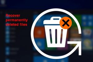Recover Permanently Deleted Files