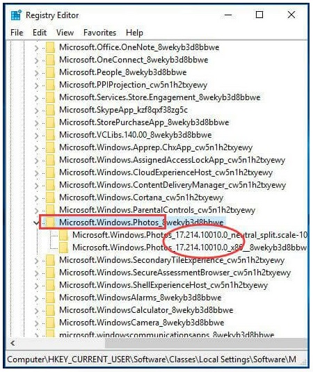 delete registry keys