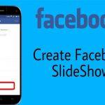 create a slideshow on facebook