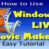 use windows movie maker