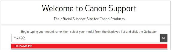 download canon mx492 driver