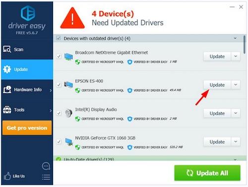 epson es 400 driver download