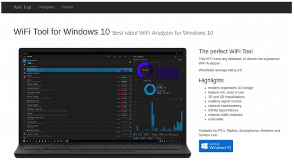 Wifi Tool | wifi analyzer for Windows