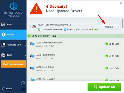 ricoh mp c4503 driver download